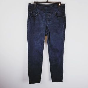 JAG Jeans high rise slim ankle Western glove work